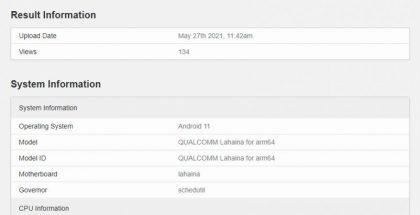 GeekBench-suorituskykytesti vihjaa: Snapdragon 888+ tulossa 3 gigahertsin kellotaajuudella?