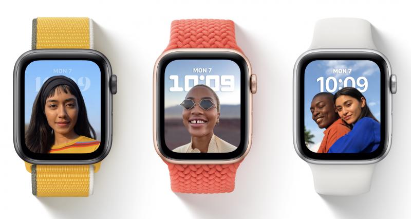 Applen toistaiseksi varsinaisesti esittelemä ainoa uusi kellotaulu watchOS 8:ssa on Portraits-muotokuvat.