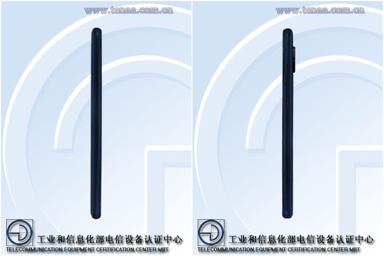 Qualcommin Snapdragon-brändiä kantava Asus-älypuhelin mallikoodilla I007D kiinalaisviranomaisen TENAAn kuvissa.
