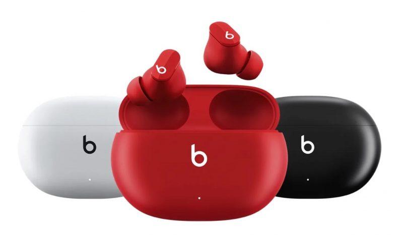 Beats Studio Buds -kuulokkeet sisältävät aktiivisen taustamelun vaimennuksen.