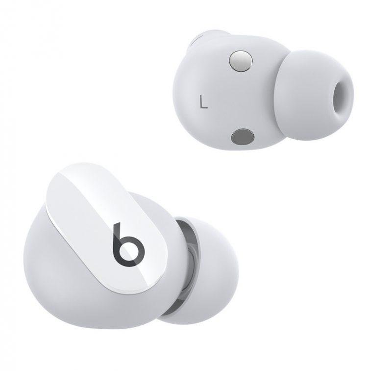 Beats Studio Buds -kuulokkeiden muoto on pyöreähkö.