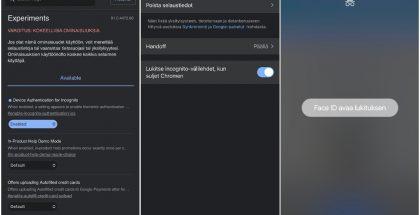 Google Chrome saa iOS:llä ja iPadOS:llä uuden incognito-välilehdet Touch ID:n tai Face ID:n taakse suojaavan toiminnon.