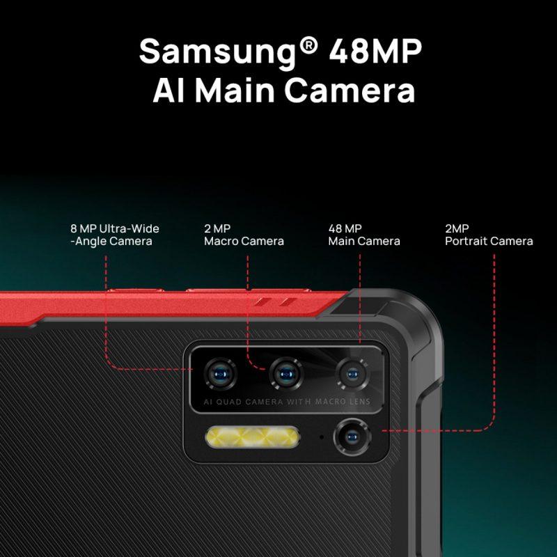 Doogee S97 Prossa on neljä takakameraa.
