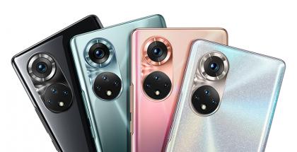 Honor 50 Prossa ja Honor 50:ssä on samanlaiset takakamerat.