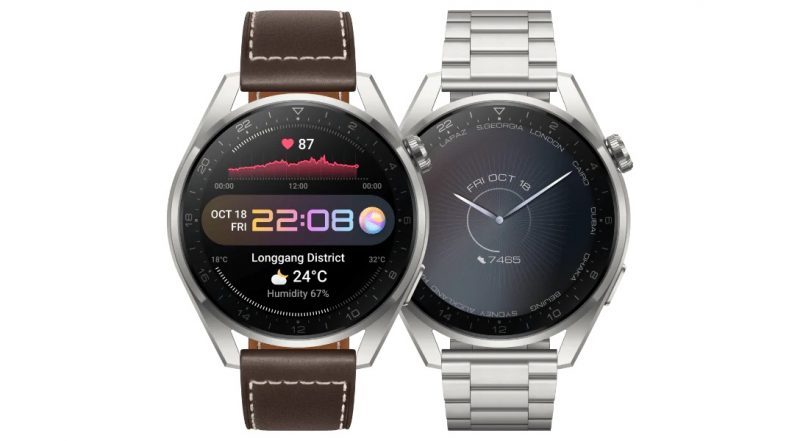 Huawei Watch 3 Pro: Classic Edition, Elite Edition.