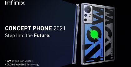 Infinix Concept Phone 2021.