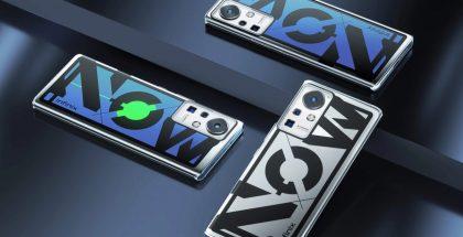 Infinixin konseptipuhelimen takapinta vaihtaa väriä.
