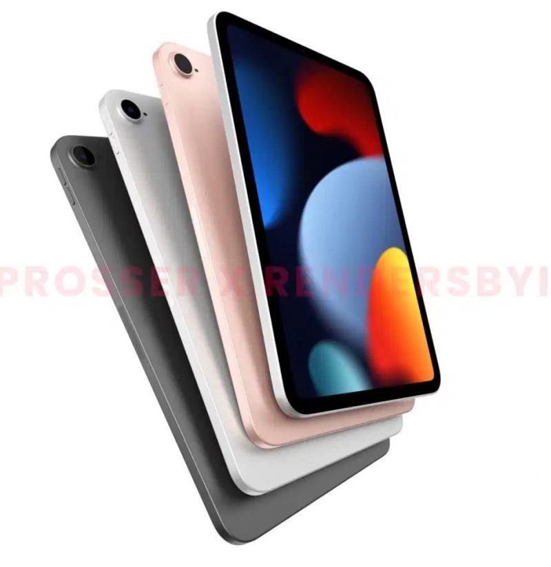 Tältä voi näyttää seuraava iPad mini. Kuva: Front Page Tech / Jon Prosser ja RendersByIan.