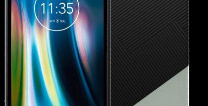 Motorola Defy. Kulmassa nähdään kantohihna. Kuva: Evan Blass / Twitter.