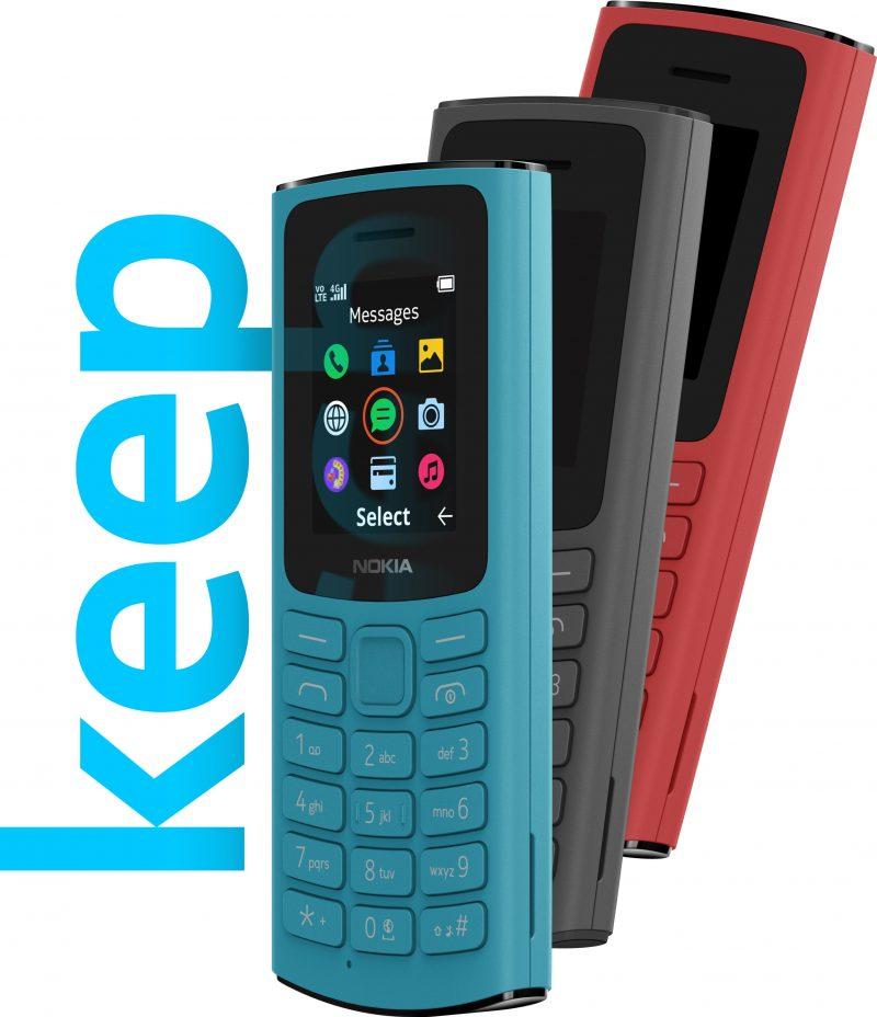 Nokia 105 4G.