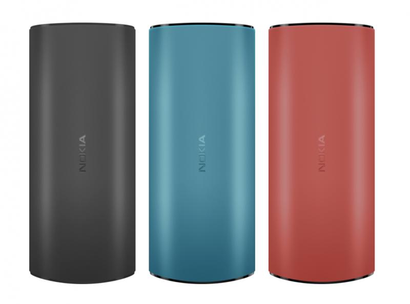 Nokia 105 4G:n värivaihtoehdot.