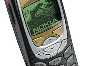 Alkuperäinen Nokia 6310 vuodelta 2001.