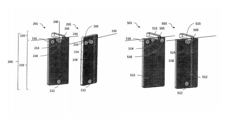 Nokian patentoima älypuhelinratkaisu sisältää 360 astetta kääntyvän kameran, joka voi suuntautua kohti äänilähdettä.