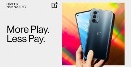 OnePlus Nord N200 5G on uutuusmalli vain Pohjois-Amerikan markkinoille.