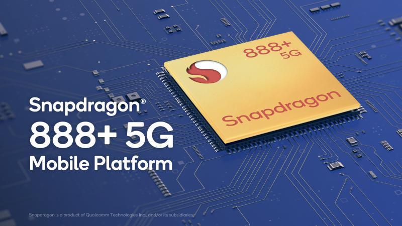 Snapdragon 888+ on Qualcommin tehokkaammaksi viritetty huippuluokan järjestelmäpiiri.
