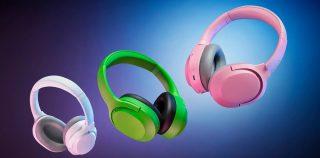 Razerin uudet Opus X -Bluetooth-vastamelukuulokkeet erottuvat kirkkailla väreillä – saatavina neon-vihreänä, pinkkinä ja valkoisena