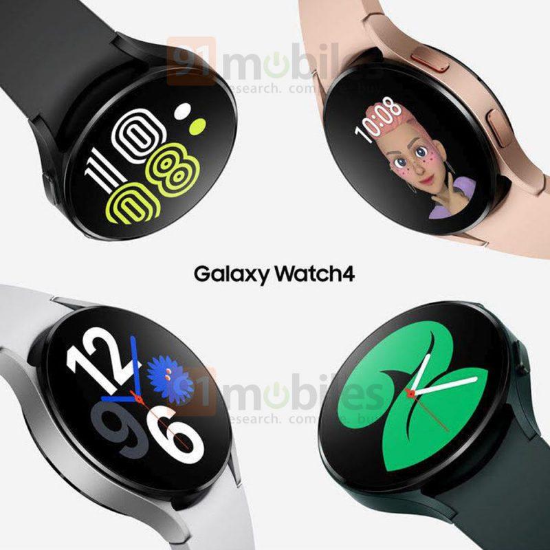Samsung Galaxy Watch4. Kuva: 91mobiles.