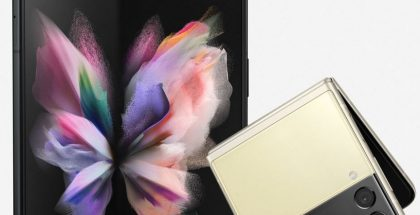 Samsung Galaxy Z Fold3 5G ja Galaxy Z Flip3 5G. Kuva: Evan Blass / Twitter.