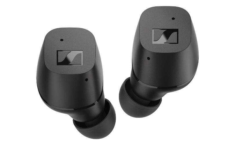 Sennheiser CX True Wireless -kuulokkeiden mukana toimitetaan tulpat neljässä eri koossa.