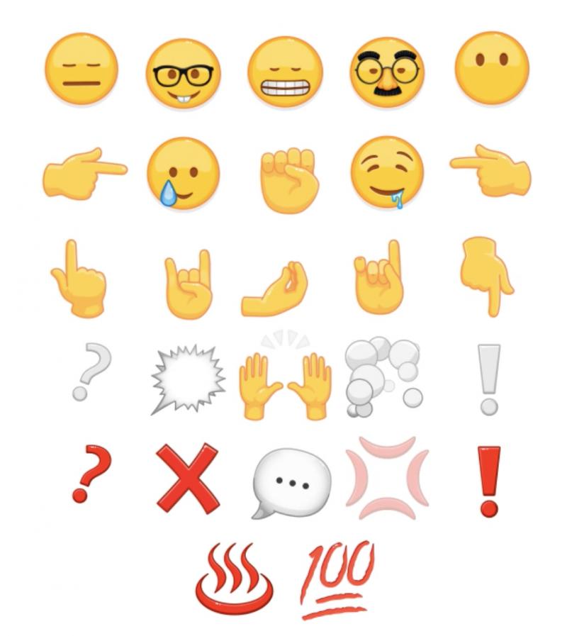 Myös nämä emojit ovat jatkossa animoituja Telegramissa.