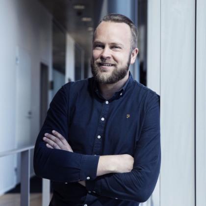OnePlussan Euroopan strategiajohtaja Tuomas Lampén.