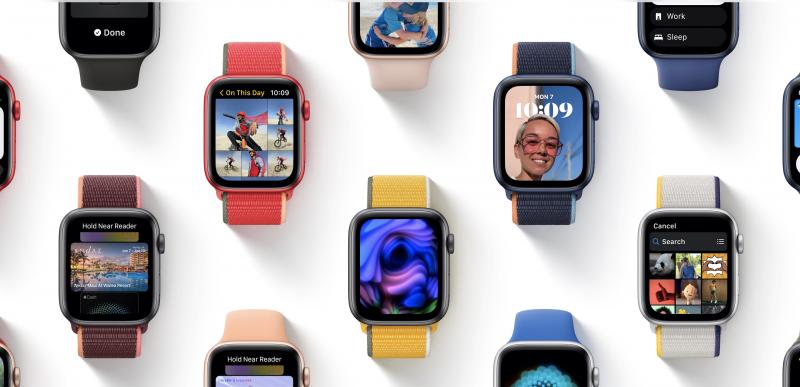 watchOS 8 mahdollistaa muotokuvien käytön kellotauluna.