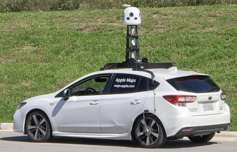 Apple on käyttänyt kartoituksissa Subaru-autoja. Kuva: Mrschimpf / Creative Commons Attribution-Share Alike 4.0 International.
