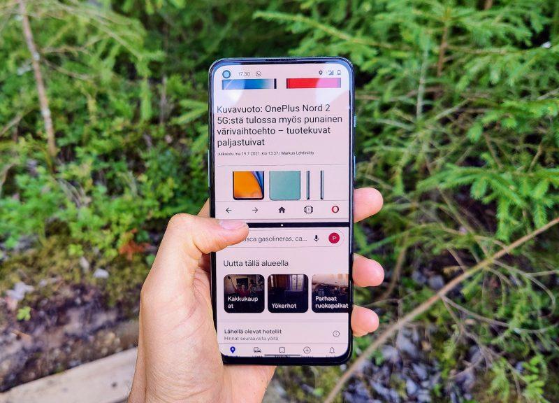Käyttö on sujuvaa moniajosta mobiilipeleihin.