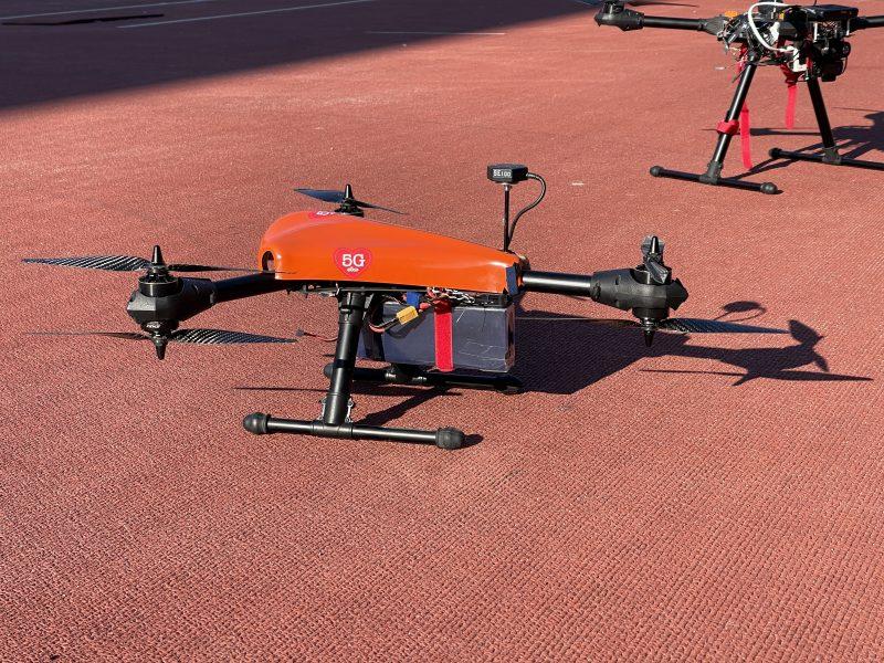 Olympiastadionin tapahtumassa käytettyjä droneja.