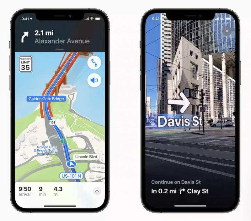 Applen Kartat-sovellus uudistuu jälleen myös iOS 15:n ja muiden käyttöjärjestelmäversioiden osana.