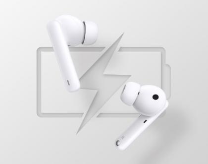 Honor Earbuds 2 Lite -kuulokkeiden akunkesto on erinomaista tasoa.