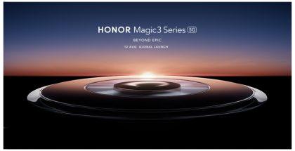 Suurikokoinen kamera-alue tulee olemaan keskeinen design-elementti Magic3-sarjassa.
