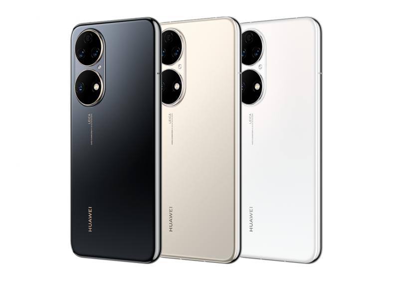 Huawei P50:n värivaihtoehdot.