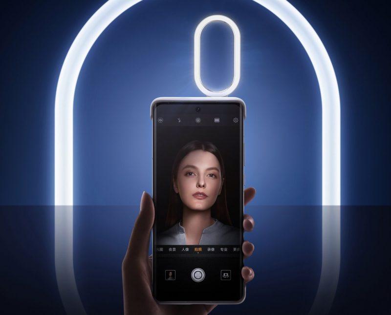P50-sarjan älypuhelimet saavat lisävarusteena myös selfie-kuvausvalon.