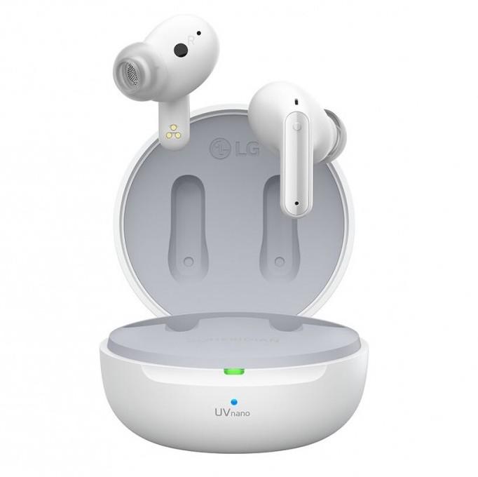 LG Tone Free DFP8W -kuulokkeissa on aktiivinen taustamelun vaimennus sekä UVnano-puhdistus.