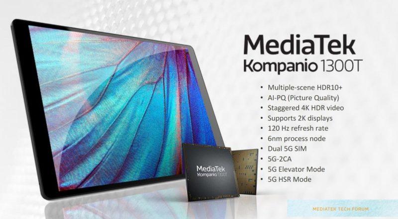MediaTek Kompanio 1300T on muun muassa tablettilaitteisiin suunnattu järjestelmäpiiri.