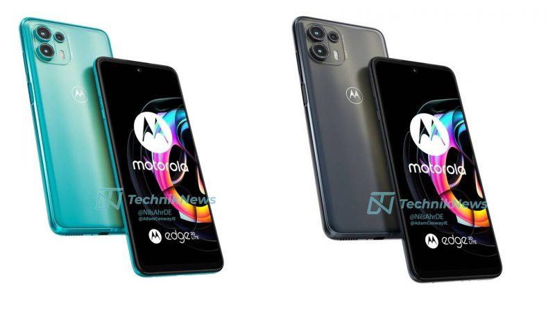 Motorola Edge 20 Liten värivaihtoehdot. Kuva: TechnikNews.