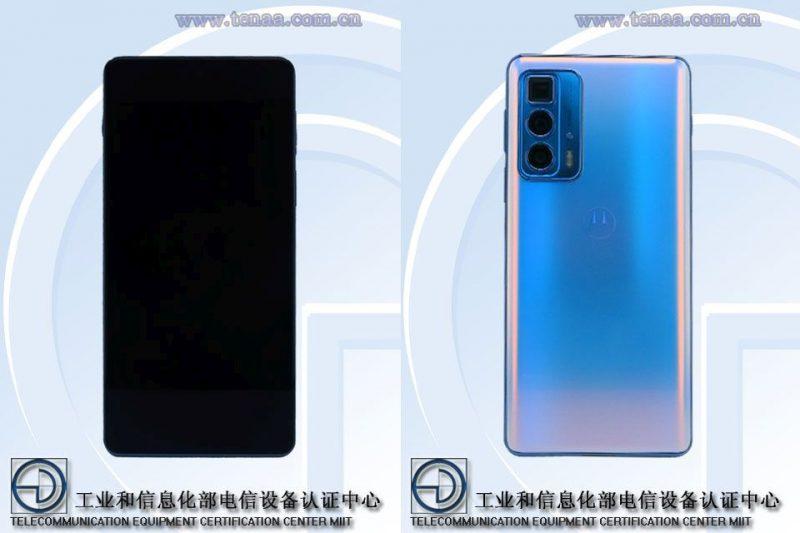 Motorola Edge 20 Pro TENAAn kuvissa.