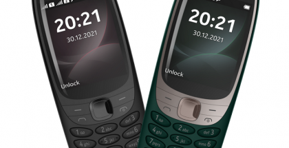 Uuden Nokia 6310:n värivaihtoehdot Suomessa.
