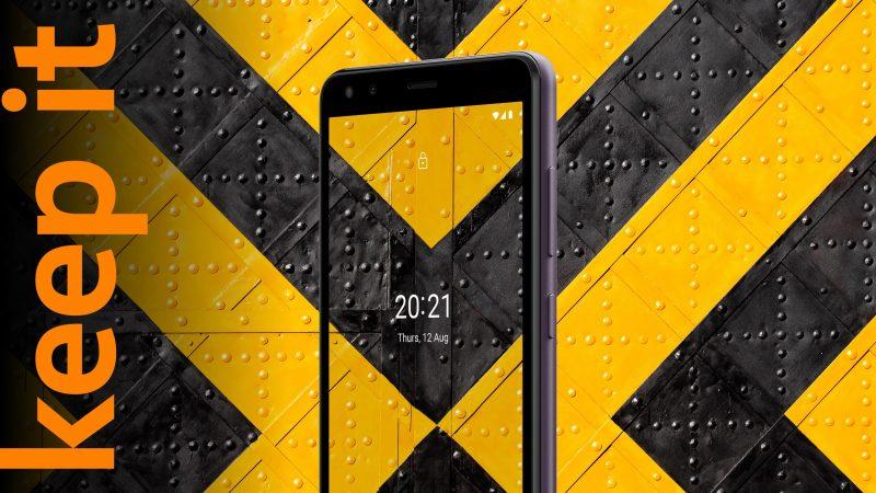 Nokia C1 2nd Editionissa on 5,45 tuuman näyttö.