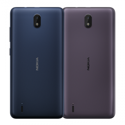 Nokia C1 2nd Editionin värivaihtoehdot.