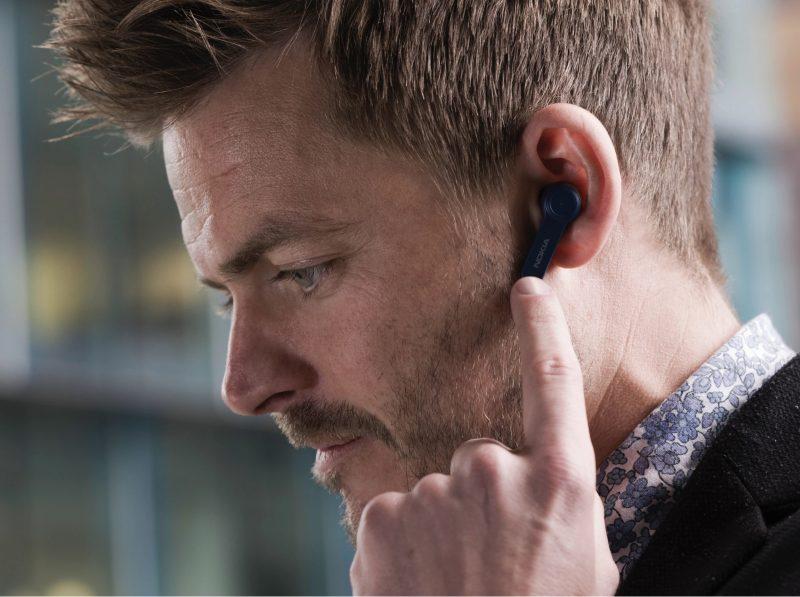 Nokia Noice Cancelling Earbuds -kuulokkeet tukevat myös kosketustoimintoja.