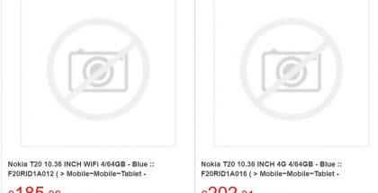 Nokia T20 on jo listattu joidenkin jälleenmyyjien toimesta.