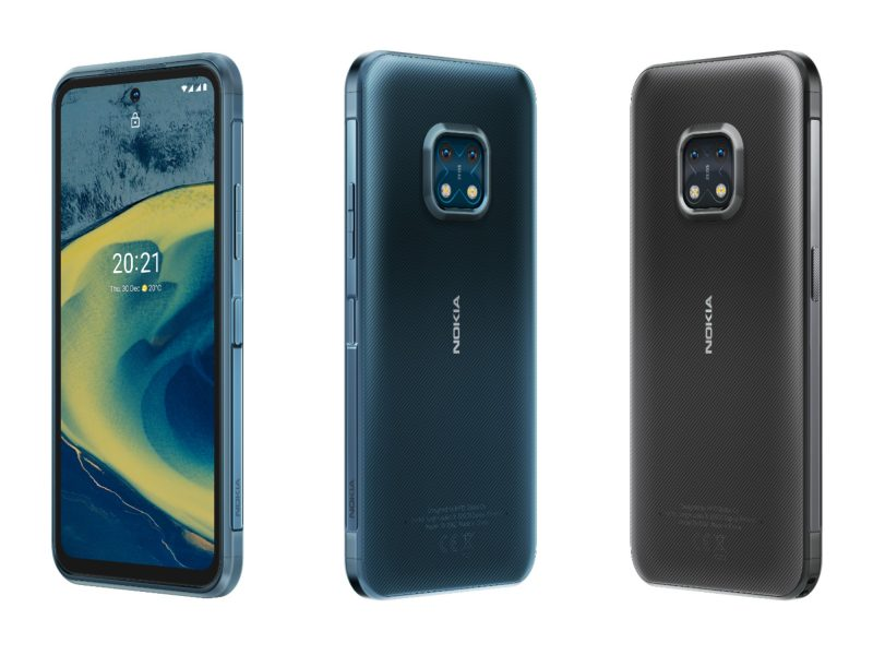 Nokia XR20:n värivaihtoehdot ovat sininen Ultra Blue ja harmaa Granite Grey.