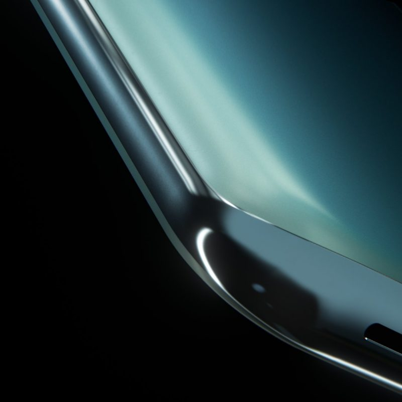 OnePlussan julkaisema OnePlus Nord 2 5G:n kulmasta.