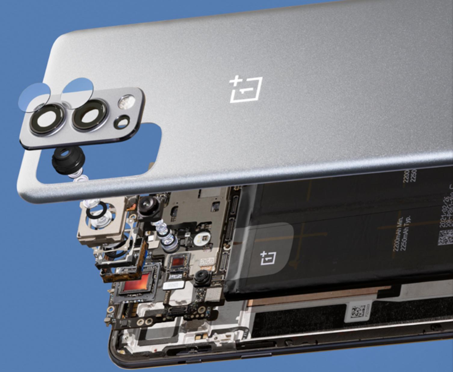 OnePlus Nord 2 5G:n Sony IMX766 -kennollisessa pääkamerassa on myös optinen kuvanvakain.