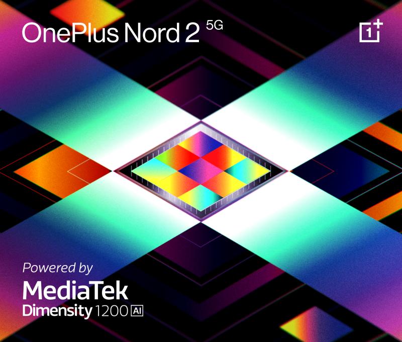OnePlus Nord 2 5G:ssä on MediaTekin Dimensity 1200-AI -järjestelmäpiiri.
