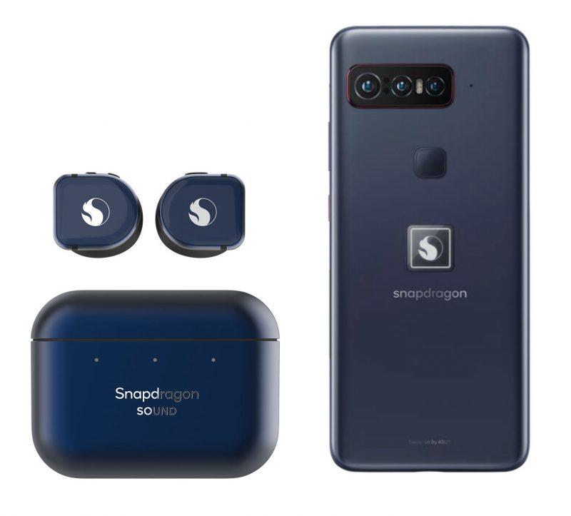 Qualcomm-älypuhelin myydään yhdessä Snapdragon Sound -määrittelyn mukaisten Master & Dynamicin valmistamien täyslangattomien nappikuulokkeiden kanssa.