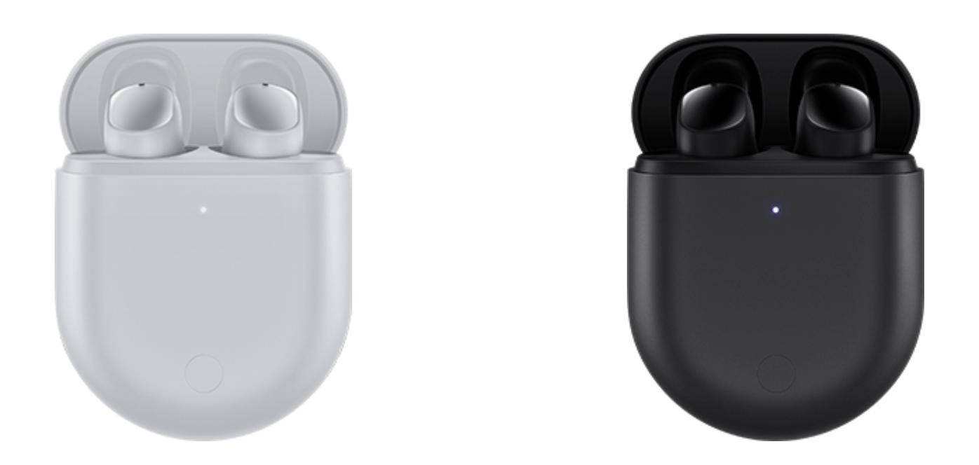 Redmi Buds 3 Pro -värivaihtoehdot.