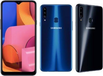 Samsung Galaxy A20s.